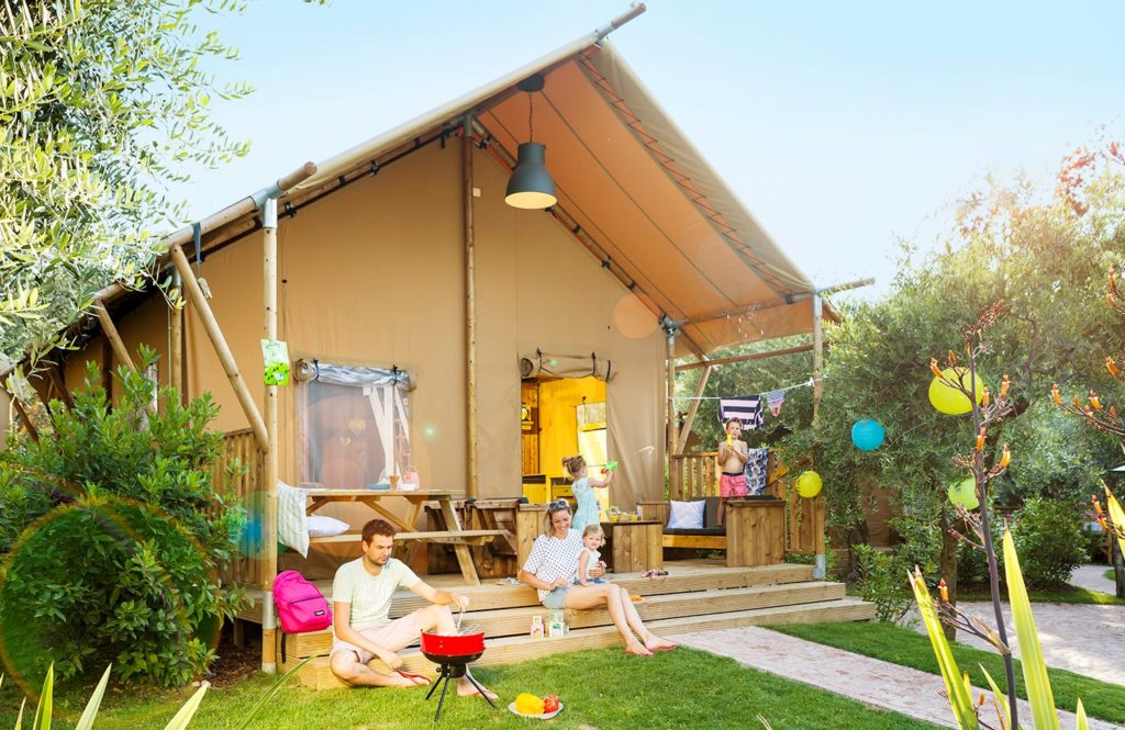 glamptent in italie glamping