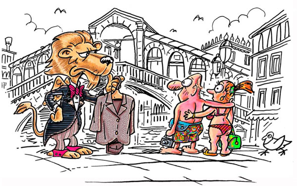 Hoe gedraag je je in Venetie - toerisme