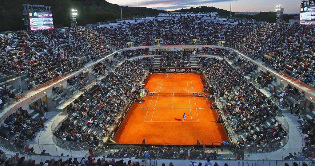 Stadion Italian open tennis