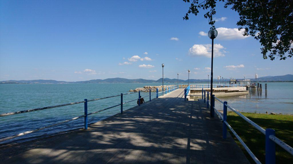 het meer van Trasimeno