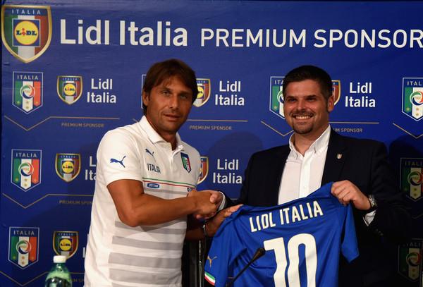 Lidl sponsor voetbal elftal italie italiaans