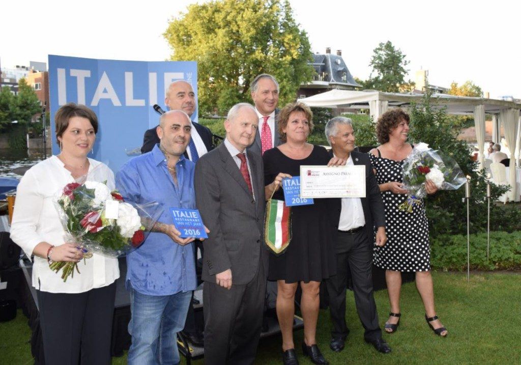 Winnaar beste Italiaans restaurant in 2016