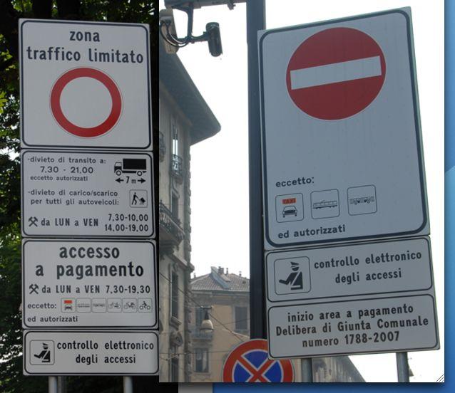 Milieuzones in Italië